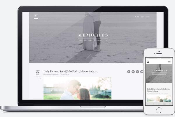 Web Design Braga | Memories Fotografia