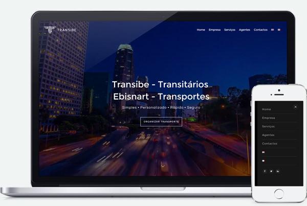Web Design Responsivo Braga | Transibe