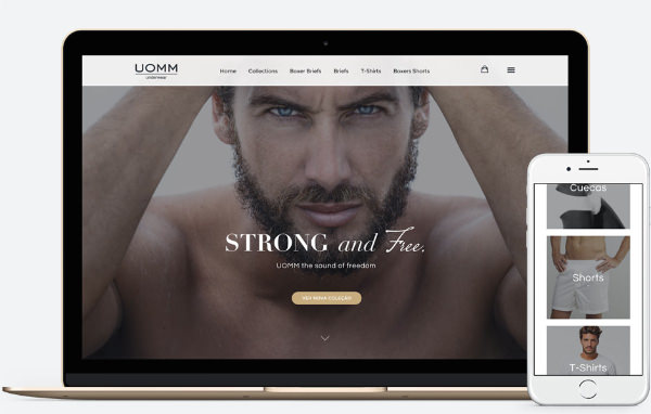 Web Design Braga, Loja Online | UOMM