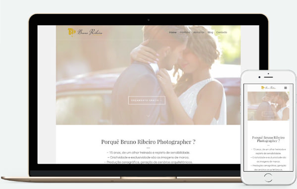 Web Design Braga | Bruno Ribeiro Photographer