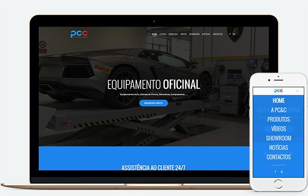 Web Design Famalicão | PC&C