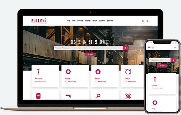 Web Design Porto | Bulloni.pt