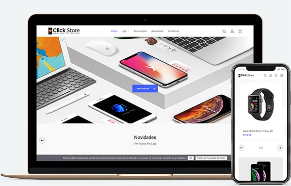 Web Design Click Store | Loja Online